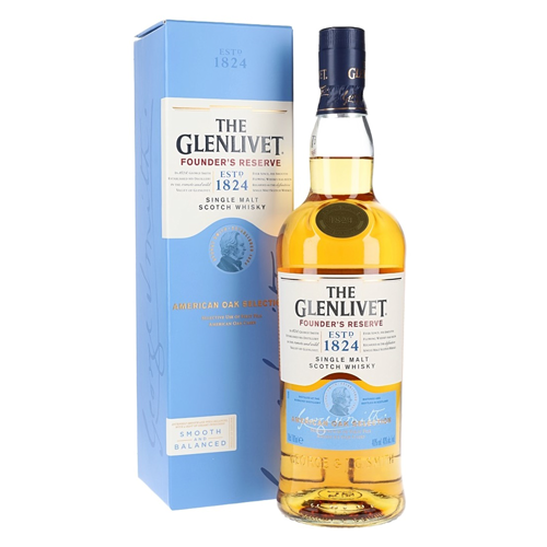 THE GLENLIVET FOUNDER'S RESERVE 40% 0.7Л
