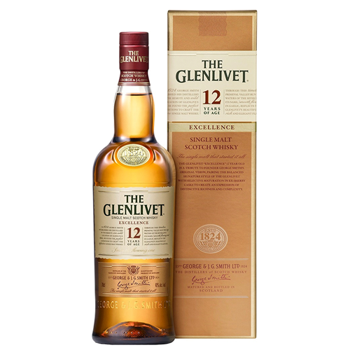 THE GLENLIVET 12 Років 40% 0.7Л