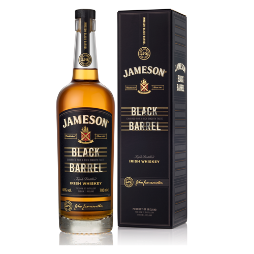 JAMESON BLACK BARREL 40% 0.7Л